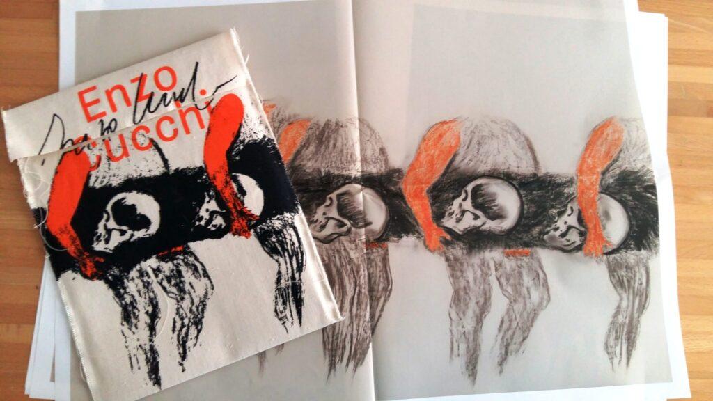 Enzo Cucci, Parallelo42 contemporary art, edizioni speciali, arte contemporanea, Mariantonietta Firmani,