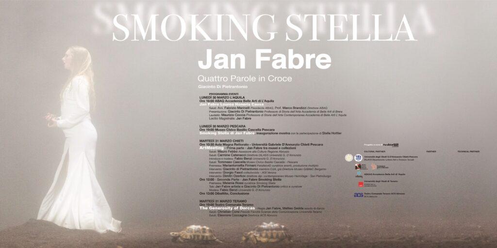Smoking Stella, Jan Fabre, Parallelo42 contemporary art