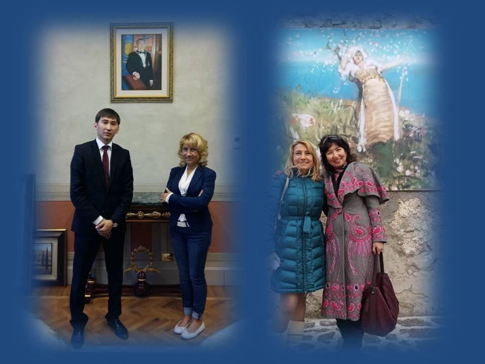 Mariantonietta Firmani incontra Ambasciata Kazakhstan