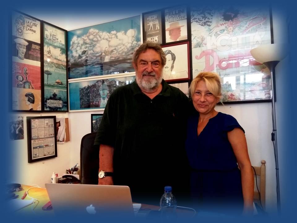 Mariantonietta Firmani con il produttore cinematografico