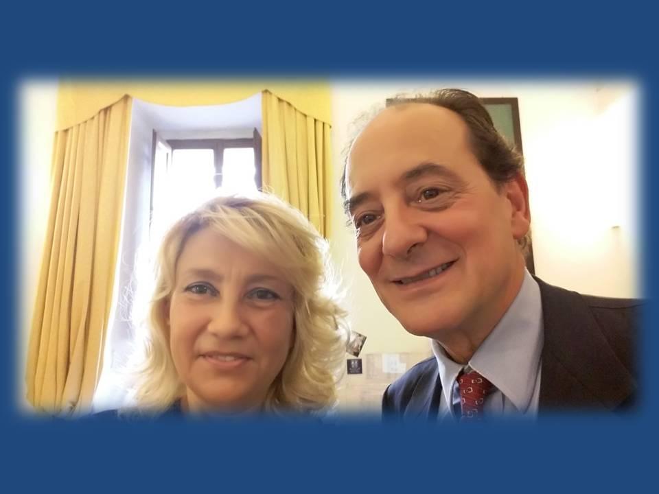 Mariantonietta Firmani incontra Ambasciata Italia