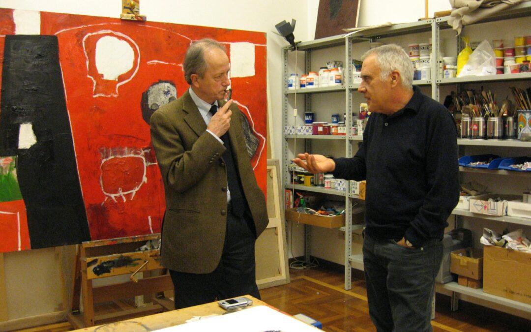 incontro con Mimmo Paladino e Sergio Givone